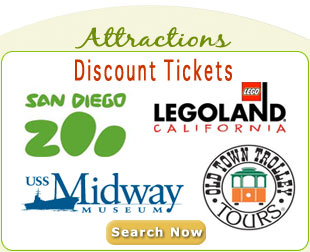 San Diego Attraction Discounted Tickets