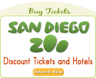 San Diego Zoo Vacation Builder. Discount tickets and hotels.